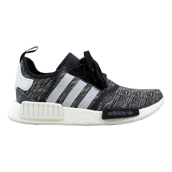 07912e242 Shop Adidas NMD R1 W Black White-Grey BY3035 Women s - Free Shipping ...