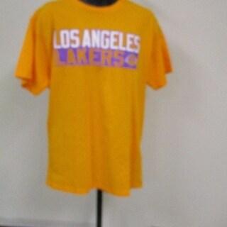 Nba Magic Johnson #32 Lakers Adult Mens Size Large (L) Majestic T-Shirt