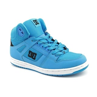 DC Shoes Rebound High Women Round Toe Leather Blue Skate Shoe