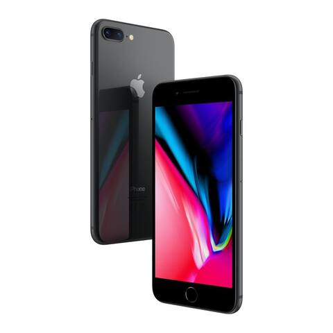 Apple iPhone 8 Plus 64gb Black Unlocked Refurbished
