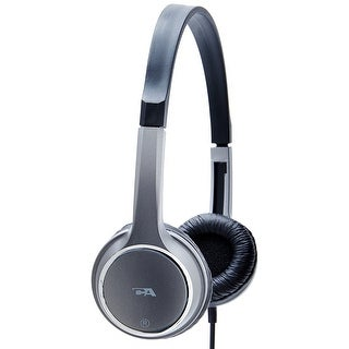 Cyber Acoustics Acm-7000 On Ear Stereo Headphones For Kids - Gray