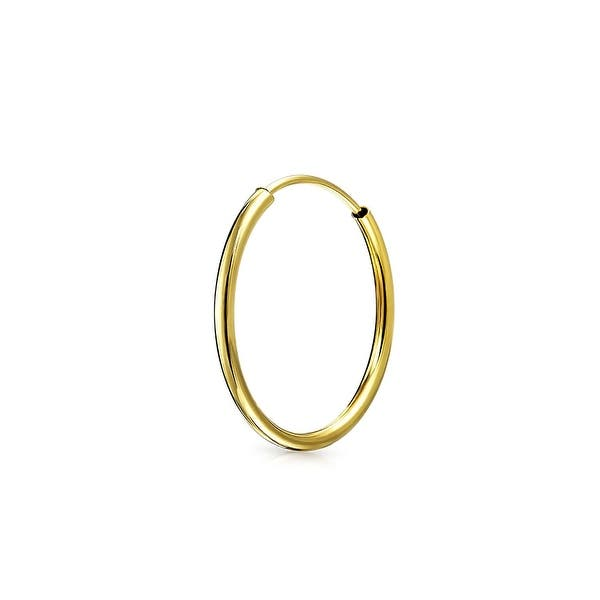 Shop Classic Thin Lightweight Delicate Ear Hoop Tragus Helix