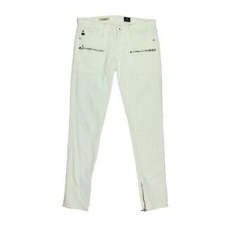 Adriano Goldschmied Womens The Harlow Denim Zipper Skinny Jeans - 31