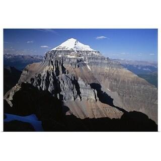 """Mount Temple Banff National Park Alberta, Canada"" Poster Print"