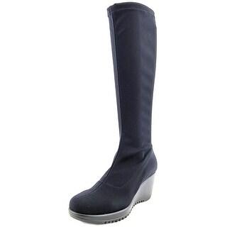 La Canadienne Gaetana Women  Round Toe Synthetic Black Boot