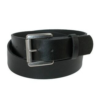 CTM® Men's Bridle Belt with Removable Roller Buckle