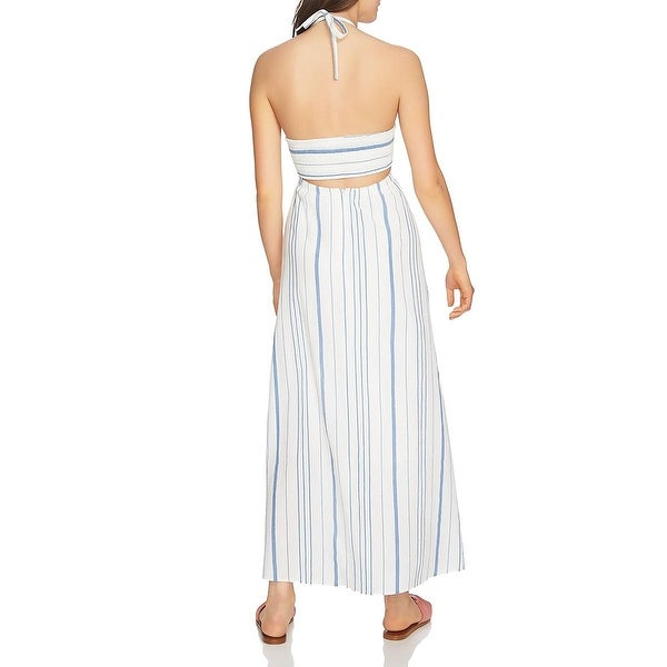 Shop 1.State Womens Maxi Dress Striped Halter
