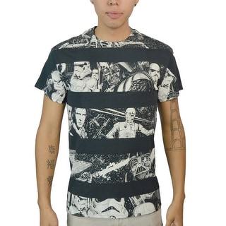 Star Wars Stripes Men's Black T-shirt