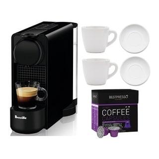 Link to Nespresso Essenza Plus Coffee Machine w/ Coffee Capsules Bundle Similar Items in Kitchen Appliances
