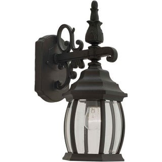 Forte Lighting 1700-01 Outdoor Wall Sconce from the Exterior Lighting Collection