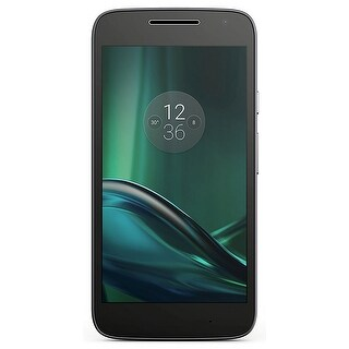 Motorola Moto G Play XT1609 16GB Unlocked GSM 4G LTE Android Phone - Black (Certified Refurbished)