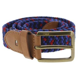 Tommy Hilfiger Mens Casual Belt Webbed Braided|https://ak1.ostkcdn.com/images/products/is/images/direct/856c9ed1e9b35a1ec10c39f2ec3ca441923faef0/Tommy-Hilfiger-Mens-Casual-Belt-Webbed-Braided.jpg?impolicy=medium