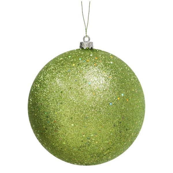 "8"" Lime Sequin Finish Ball"