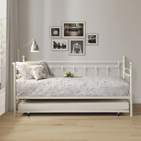 Dogue Metal Daybed with Trundle