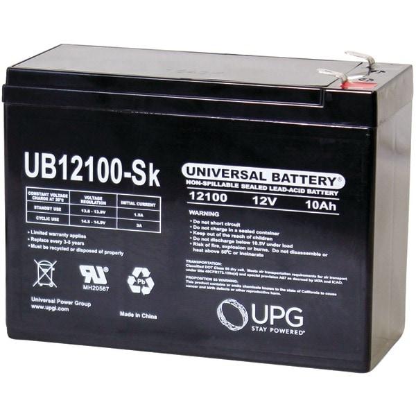 Upg 85968/D5719 Sealed Lead Acid Batteries (12V; 10Ah; Ub12100S)