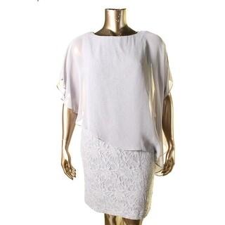 Jessica Howard Womens Sleeveless Mini Cocktail Dress