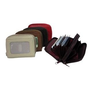 Improving Lifestyles® Leather Mens Wallet Bifold Black RLIL3135BBK