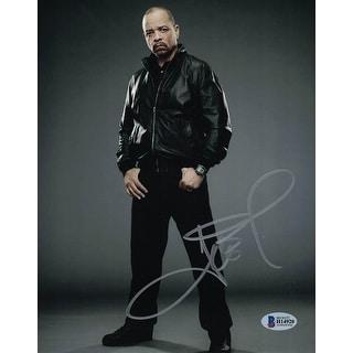 Ice T AutographedSigned 8x10 Photo BAS