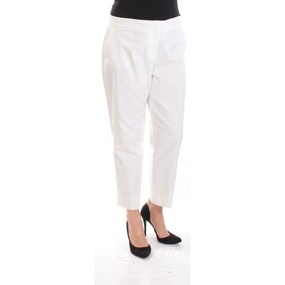 VINCE CAMUTO $79 Womens New 1021 Ivory Wear To Work Pants 14 B+B