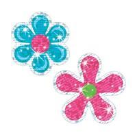 Inc.  Sparkle Stickers Flower Power