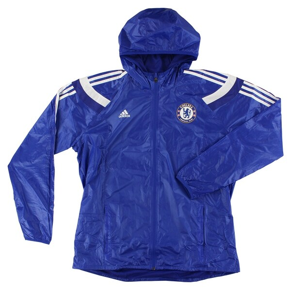 d0dc28037cda Shop Adidas Mens Chelsea Anthem Jacket Blue - Blue White - XL - On Sale -  Free Shipping Today - Overstock - 22545058