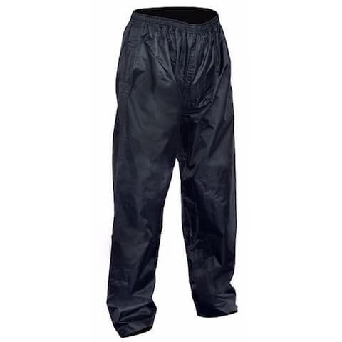Men's 100% Waterproof Rain Pants RP-1 - Black