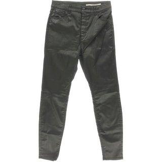 Zara Womens Slim Fit High Waist Colored Skinny Jeans - 12