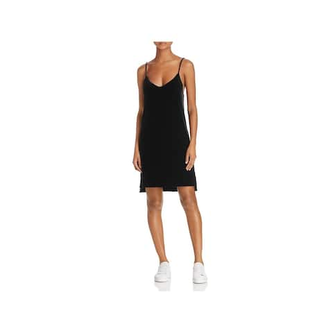 Rag & Bone Womens AMBER Slip Dress Velvet Party