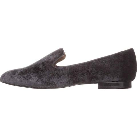 Tahari Womens Foley Almond Toe Loafers