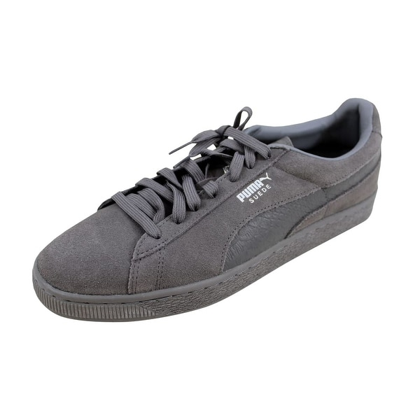 b5b0cda58df ... Men s Athletic Shoes. Puma Men  x27 s Suede Classic Mono Reptile Steel  Gray Silver 362164 03