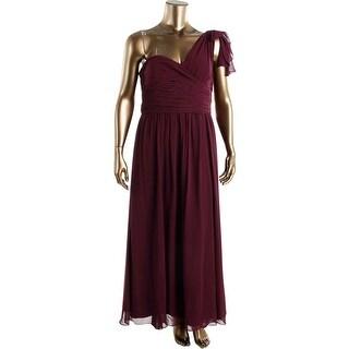 Lauren Ralph Lauren Womens Evening Dress Empire Pleated