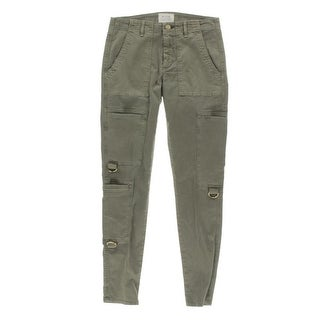 McGuire Womens Skinny Jeans Hardware Detail Classic Rise