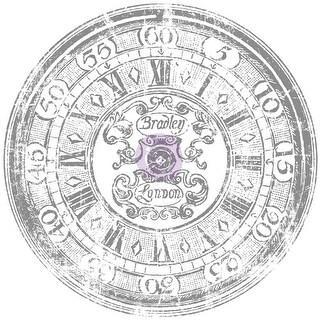 "Iron Orchid Designs Decor Transfer Rub-Ons-Clock, 20"""
