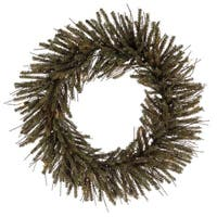 "20"" Vienna Twig Artificial Christmas Wreath - Unlit"