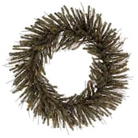 "30"" Vienna Twig Artificial Christmas Wreath - Unlit - brown"