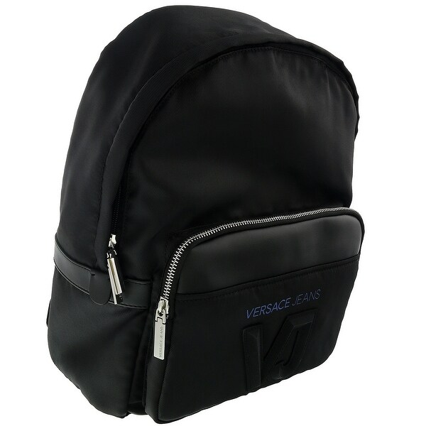 2ceb2ad575 Shop Versace EE1YSBB03 EMAG Black Backpack - Free Shipping Today ...