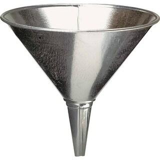 Plews 75-003 Steel Funnel Galvanized, 2 Qt.