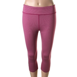 Under Armour Womens Striped Leggings Capri Pants - p/s
