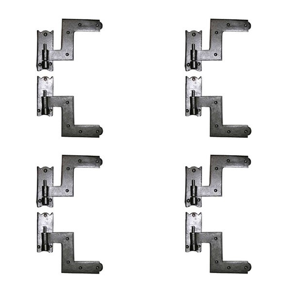 Shop 4 Pairs Shutter Hinge Wrought Iron 6 H X 6 1 2 W