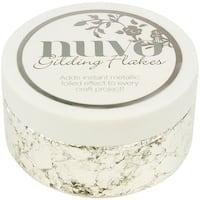 Nuvo Gilding Flakes 6.8oz-Silver Bullion