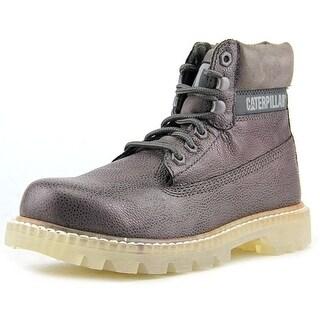 "Caterpillar 6"" Colorado Round Toe Leather Work Boot"