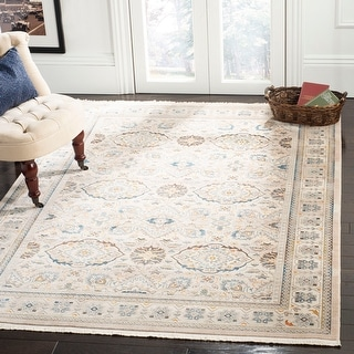 Link to Safavieh Vintage Boho Persian Zoltanne Oriental Polyester Rug with Fringe Similar Items in Transitional Rugs