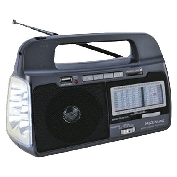 Supersonic Sc-1082 9-Band Am/Fm/Sw1-7 Portable Radio