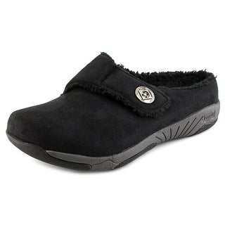 Propet Morgan Women Round Toe Synthetic Black Mules