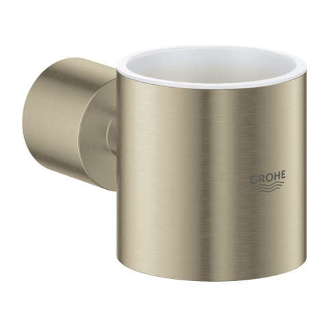 Grohe 40 304 3 Atrio Wall Mounted Soap Dispenser or Tumbler Holder