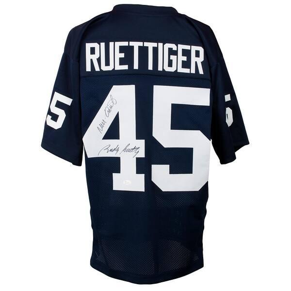 the best attitude c20aa e4cdf Shop Rudy Ruettiger Signed Custom College Football Jersey ...