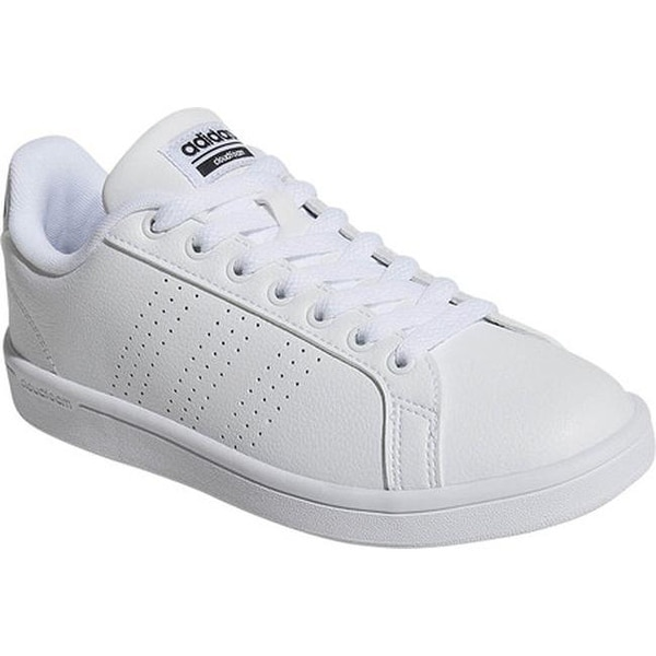 935632a4dbcb adidas Women  x27 s NEO Cloudfoam Advantage Clean Court Shoe FTWR White FTWR