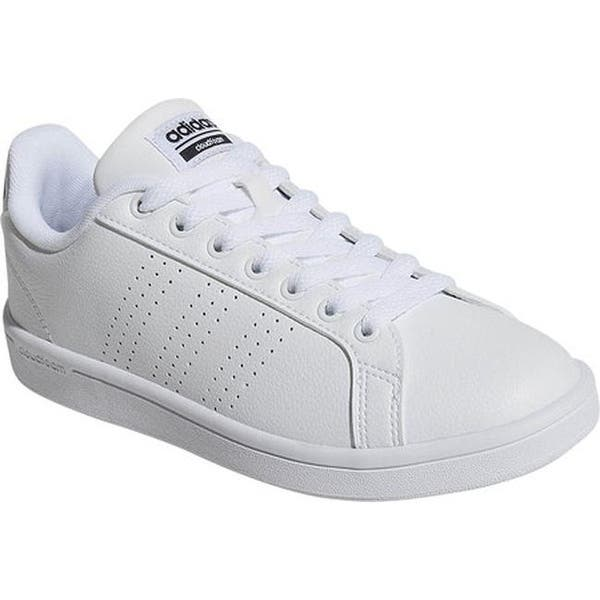 premium selection c7e7a bf285 adidas Women s NEO Cloudfoam Advantage Clean Court Shoe FTWR White FTWR  White Core Black