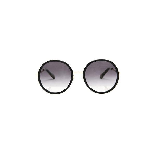 19adc5127d Shop Kate Spade Lamonica Women s Metal Sunglasses - Black Gold - One ...