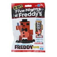 Five Nights at Freddy's 8-Bit Buildable Figure: Plush Freddy - Multi